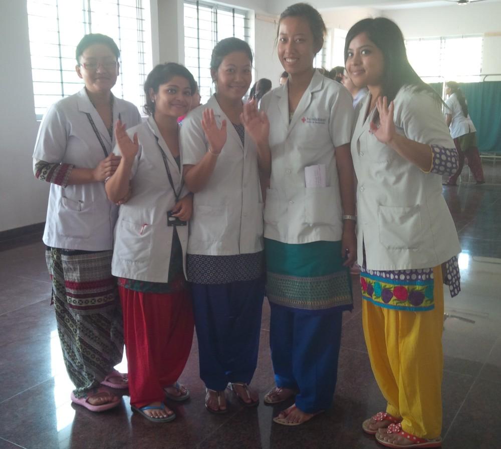 India Nursing Council takes 30,000 Nepali women hostage Nov 9th 2015 (5/5)